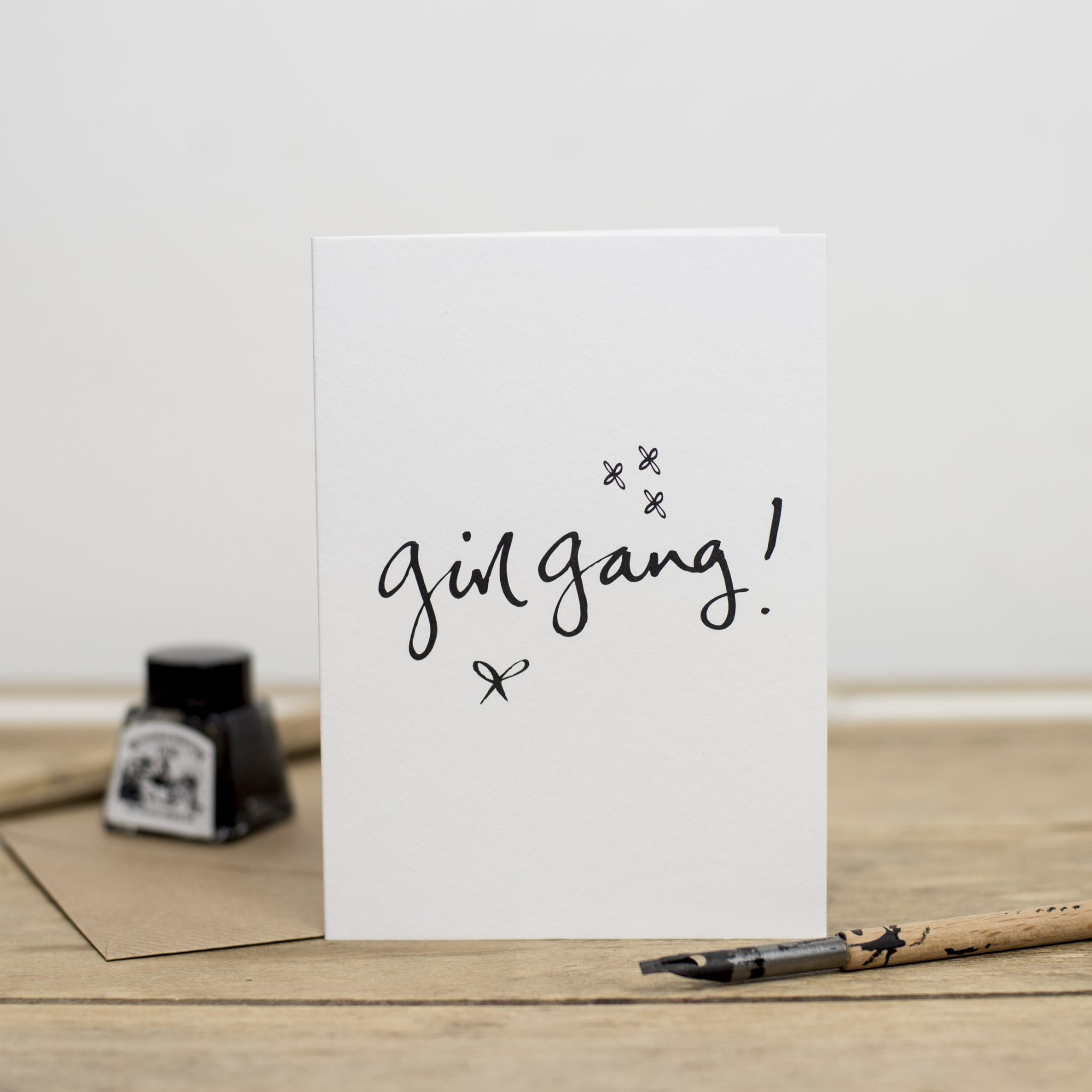 Girl Gang Greeting Card