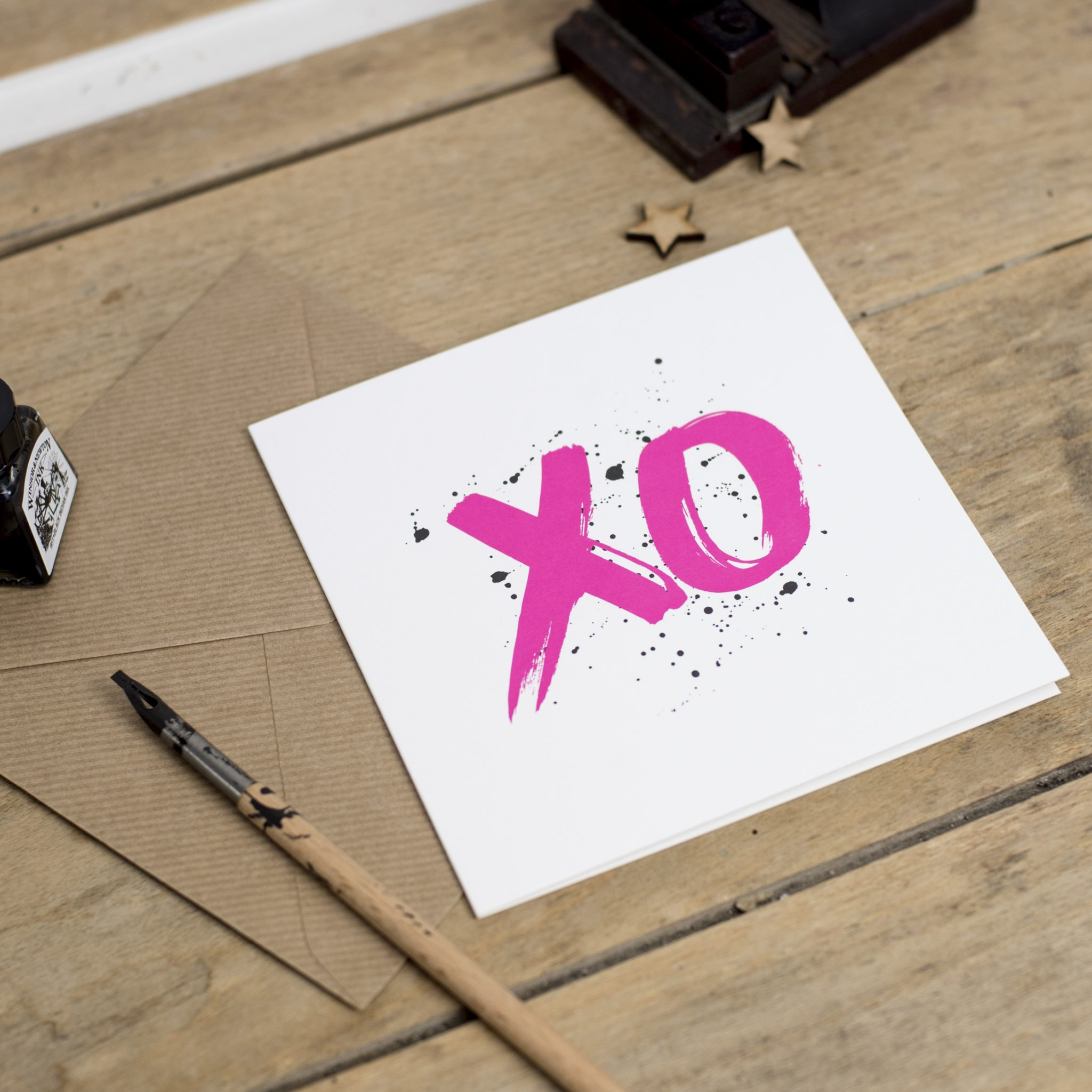 XO Greeting Card