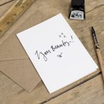 You Beauty Greeting Card