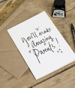 You'll Make Amazing Parents Greetings Card