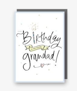 Happy Birthday Terrific Grandad Card