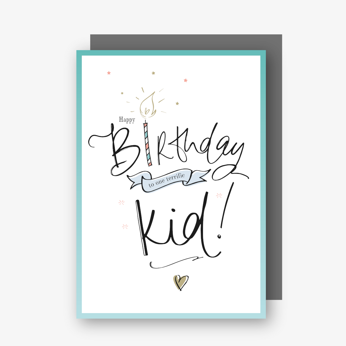 Happy Birthday Terrific Kid Card