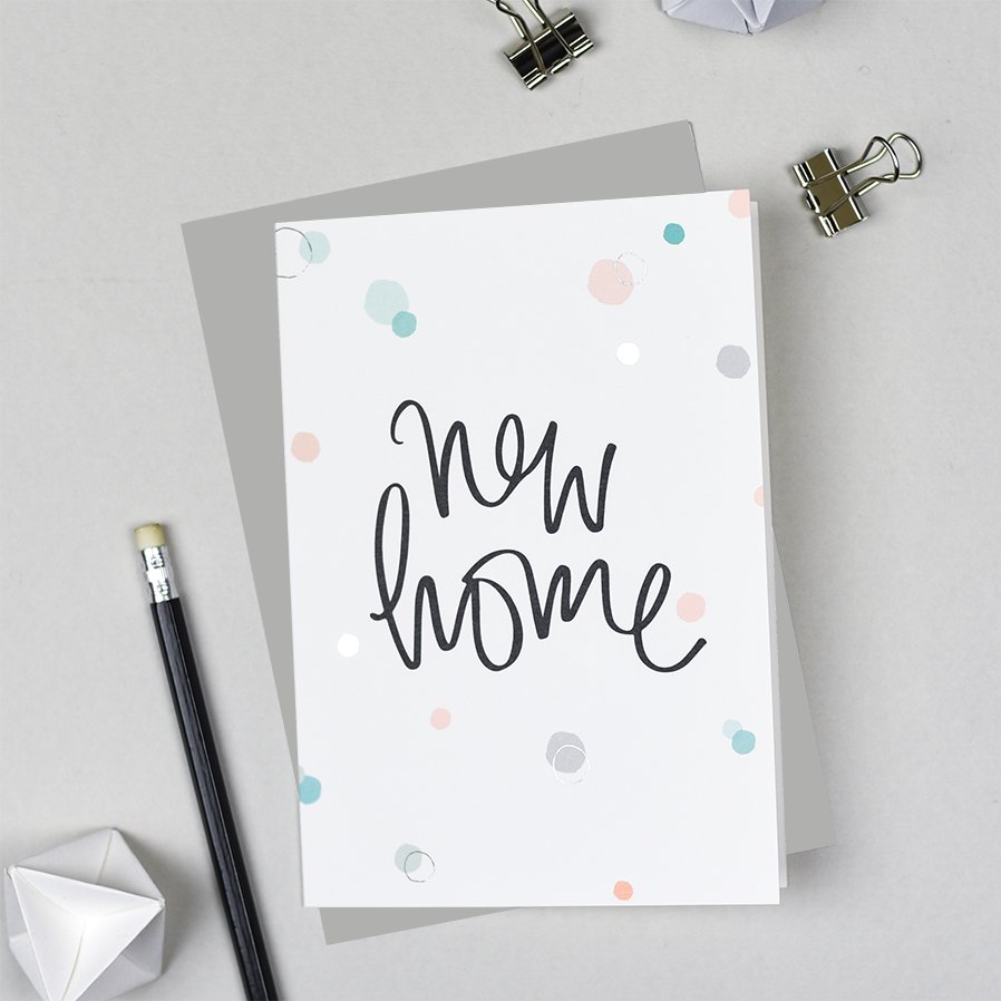 New Home Greeting Card From Pearl Of A Girl Stationery