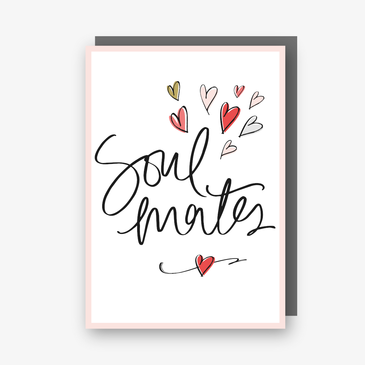 Soul Mates card from the Sharpie range.