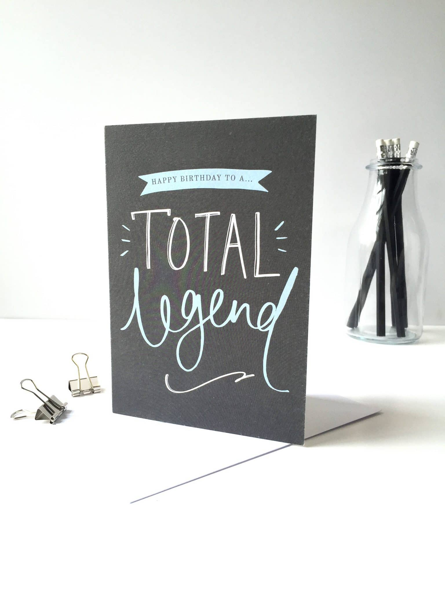 Happy Birthday Total Legend Card