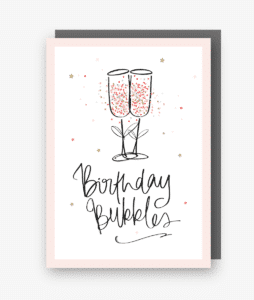 Birthday Bubbles Card Sharpie Range