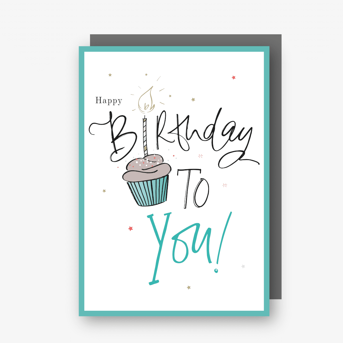 Happy Birthday To You Card (Green)